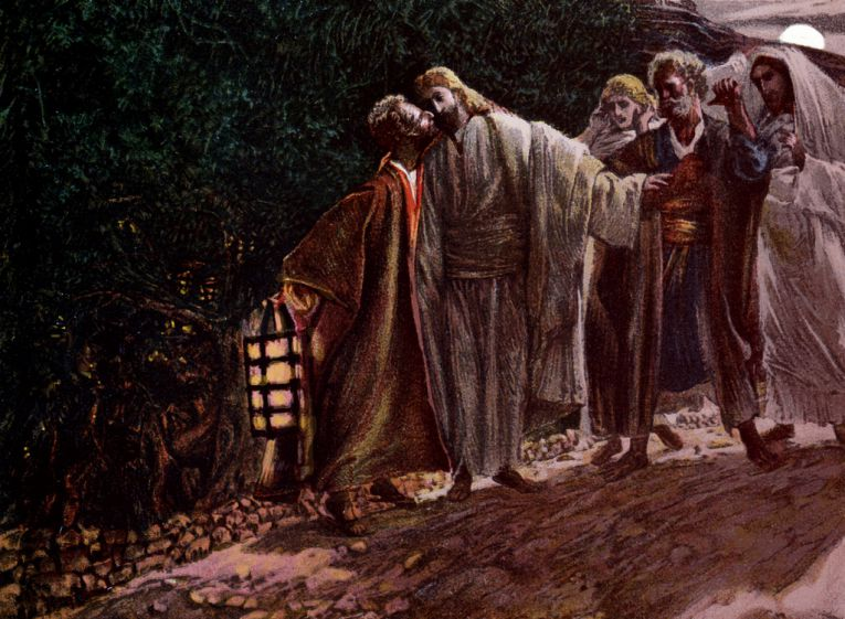 Wikimedia Commons - Judas Betrayal